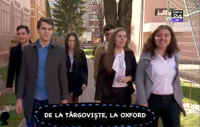 """VIDEO – Trei elevi romani, COLEGI DE CLASA, admisi la celebra Oxford University! """"Au aratat Europei ce poate O SCOALA DE PROVINCIE!"""""""