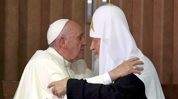 Declaratia comuna a Patriarhului Kirill al Rusiei si Papa Francisc, dupa intalnirea ISTORICA. Viitorul omenirii in centrul atentiei!