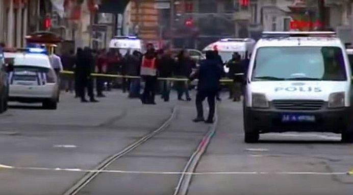 VIDEO SOCANT – Explozie devastatoare in centrul Istanbulului! Cel putin 4 morti si 20 de raniti!