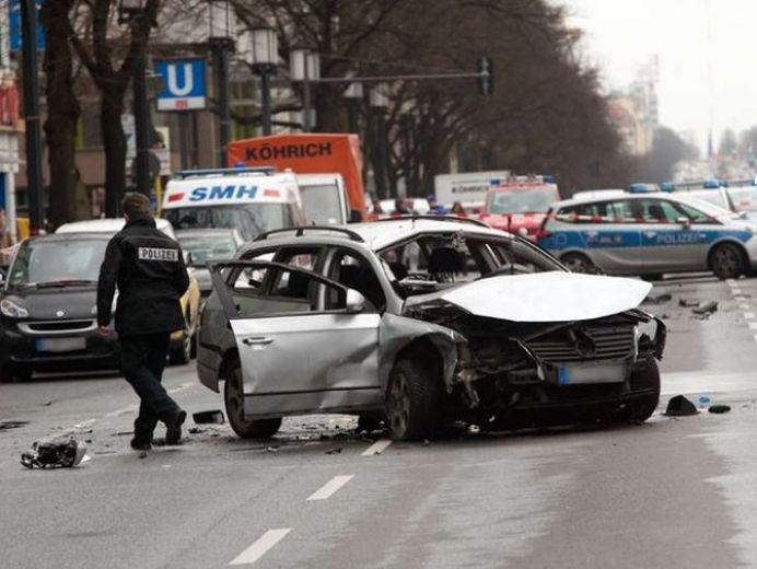 FOTO – Explozie in centrul Berlinului! Politia se teme de un ATENTAT cu BOMBA!