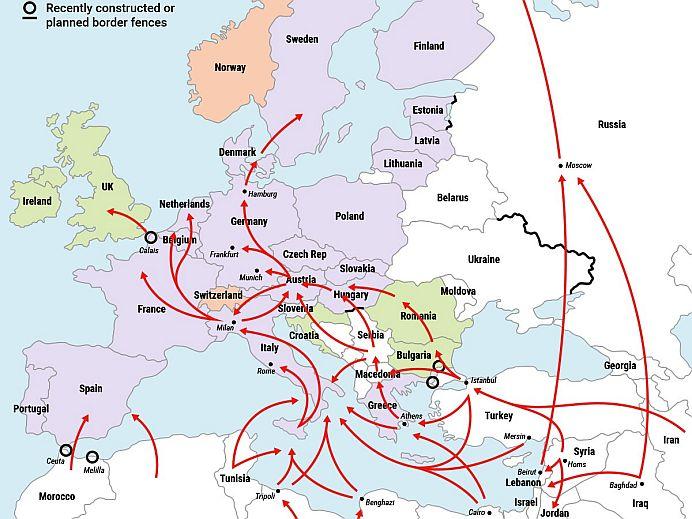 Avertisment SOCANT din partea Rusiei! Rutele imigrantilor musulmani SE MUTA prin Romania!