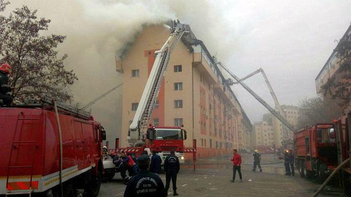 Incendiu de PROPORTII in Bucuresti! Tot cartierul VITAN este sub un fum gros!
