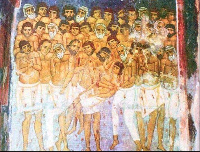 Astazi este o zi SFANTA pentru toti crestinii ortodocsi! Vezi ce semnificatie are PRAZNICUL celor 40 de mucenici!