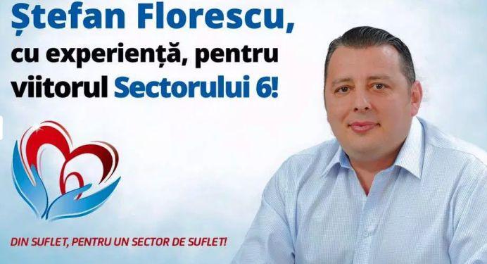 Justitie: Presedintele Fundatiei Din Suflet, Pentru Suflet, Stefan Florescu, poate candida la Primaria Sectorului 6! PNL-ul il curteaza intens!