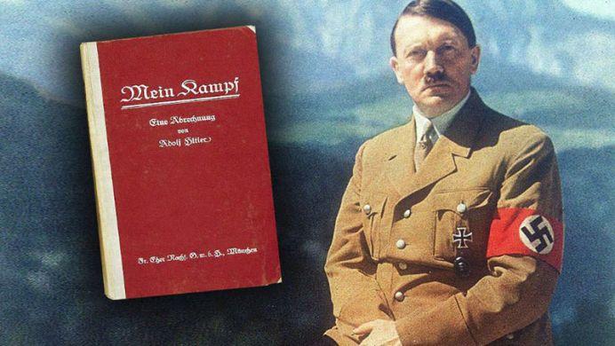 Mein Kampf de Adolf Hitler devine MANUAL cu predare in scolile din Germania!