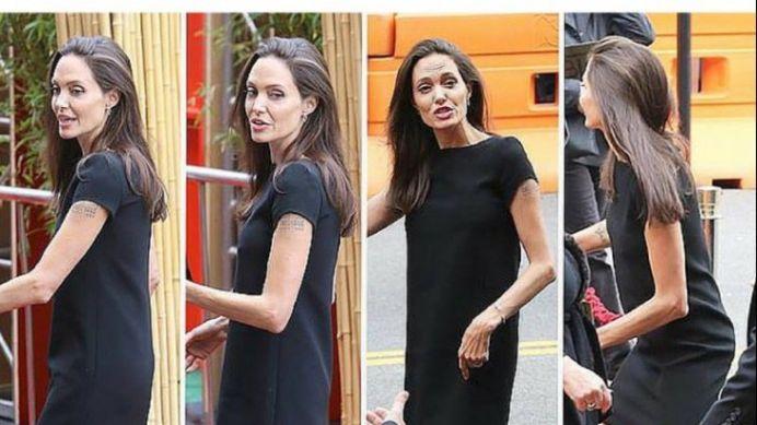A ajuns la doar 36 de kilograme! Angelia Jolie POATE MURI in orice clipa!