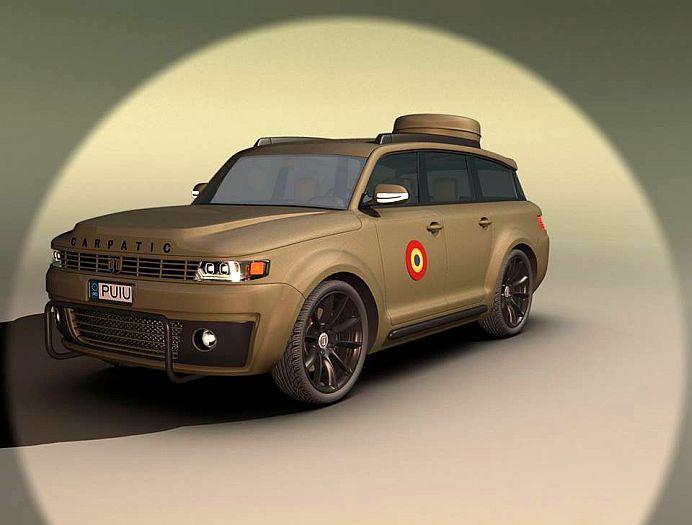 FOTO – ARO 2016 CARPATIC se ia la tranta cu Land Rover si Toyota!