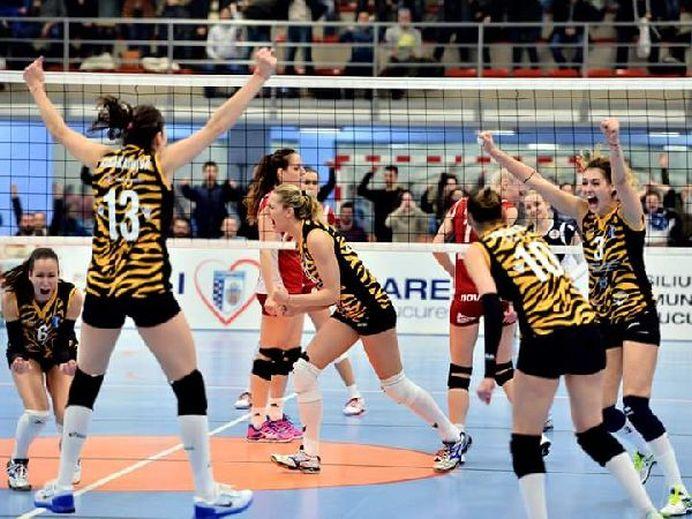 Performanta ISTORICA pentru sportul romanesc! CSM Bucuresti este CAMPIOANA CONTINENTALA!