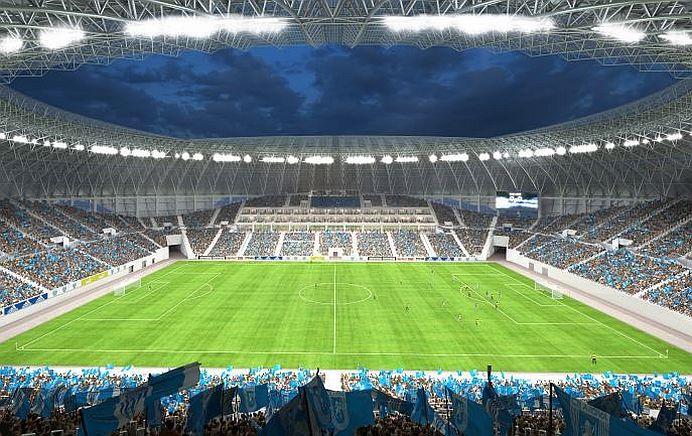 GALERIE FOTO – Cel mai nou si modern stadion din Romania ITI VA TAIA RASUFLAREA!