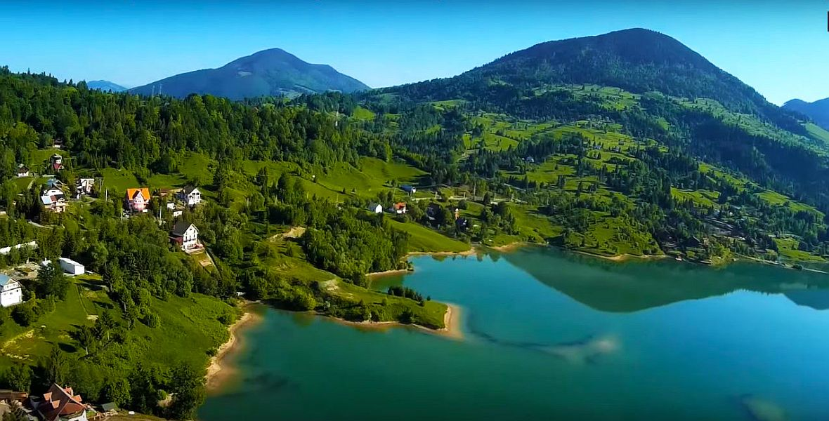 Paradisul romanesc de la Colibita este O MARE TEAPA! Nimeni nu se poate apropia de UN LAC AL STATULUI ROMAN!