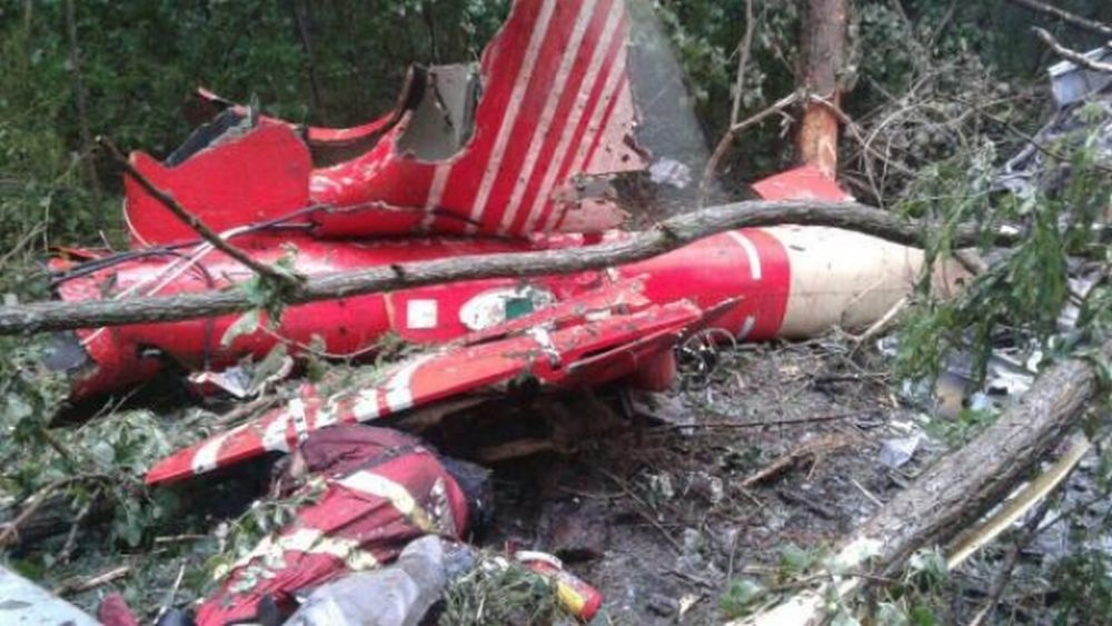 FOTO – Primele imagini de la locul prabusirii elicopterului SMURD arata un IMPACT EXTREM de violent!