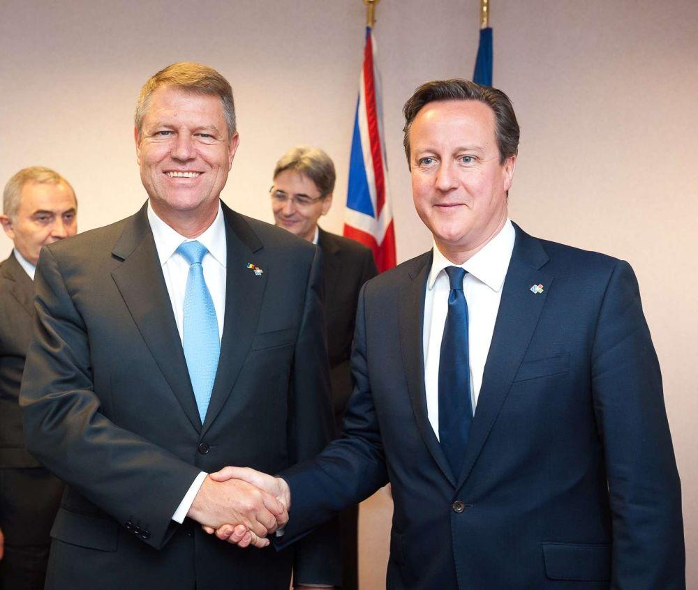 """Iohannis s-a intalnit cu David Cameron: Vesti BUNE pentru romanii din Anglia! """"Am primit asigurari in numele Marii Britanii…"""""""