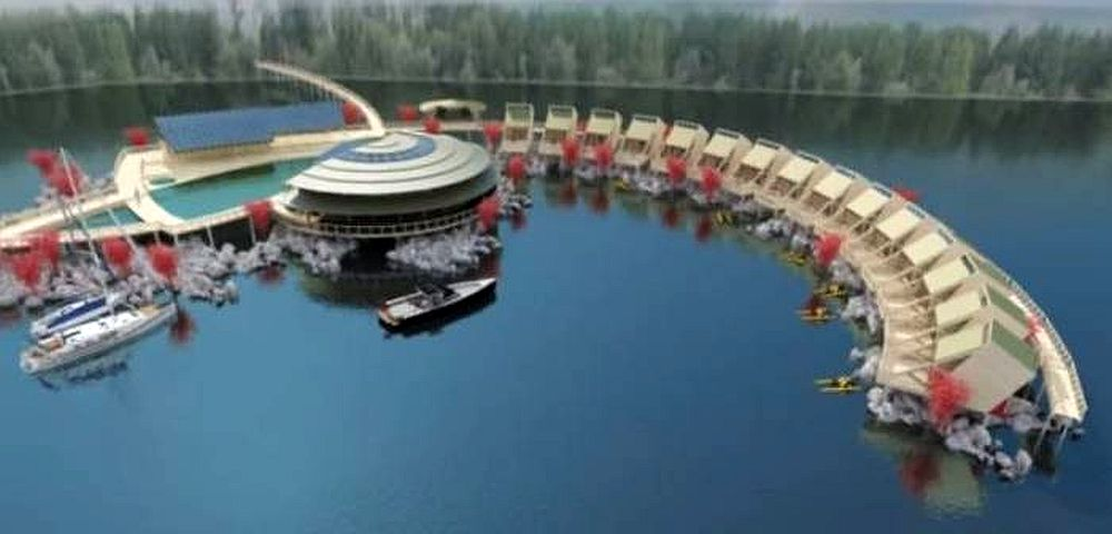 Asa ceva nu s-a mai vazut in Romania! In Clisura Dunarii se deschide un hotel plutitor ca in Insulele Maldive!
