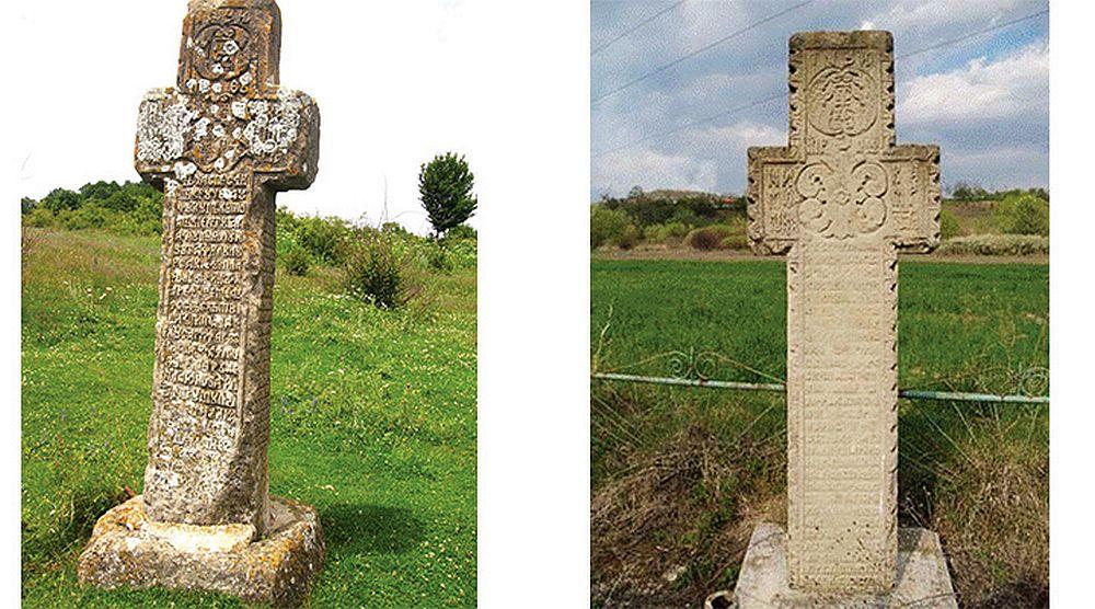 Misterul CRUCILOR DIN PIATRA, vechi de sute de ani si inscriptionate in caractere chirilice, a fost DEZLEGAT!