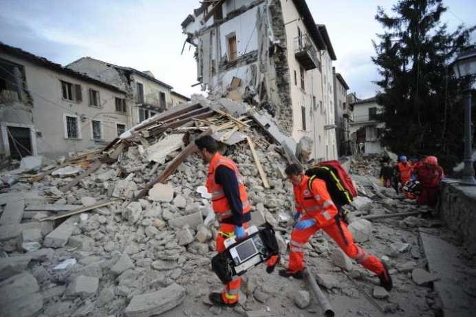 Romanii sunt in lacrimi! Bilantul romanilor morti in cutremurul din Italia creste!