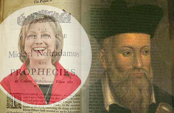 Ce se va intampla cu Europa de Est daca Hillary Clinton va ajunge presedinte? Vezi profetia lui Nostradamus!
