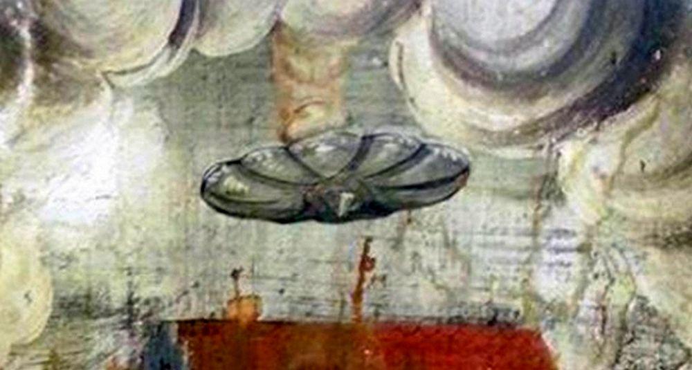 Doi cercetatori israelieni sunt convinsi ca au descoperit un OZN pictat intr-o biserica din Romania!