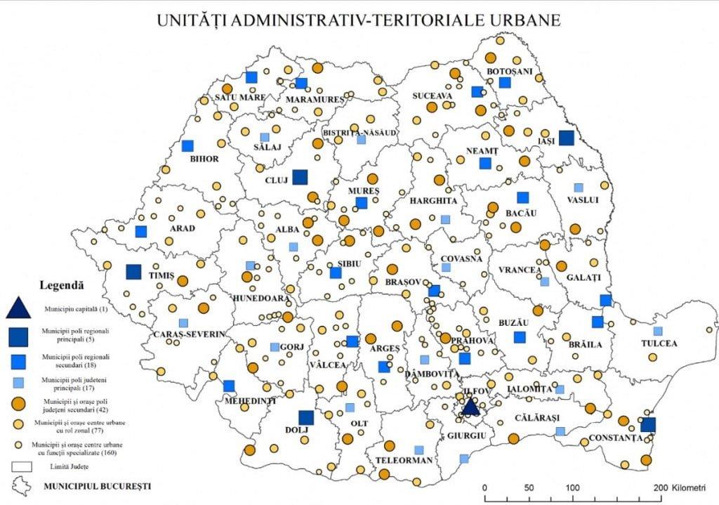 Guvernul REVOLUTIONEAZA toate orasele, satele si comunele din Romania! Vezi cum arata noua RECLASIFICARE a localitatilor si de ce te AFECTEAZA direct!