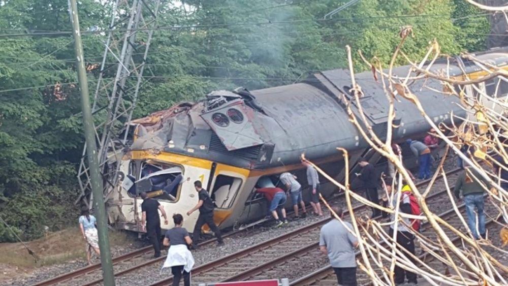 FOTO – VIDEO GRAV accident de tren in Spania! Doi oameni au MURIT pe loc, multi altii sunt raniti!