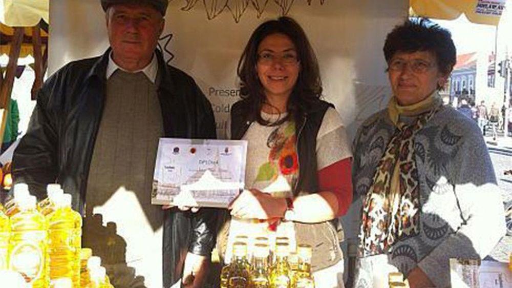 O familie dintr-o comună de lângă Cluj produce CEL MAI BUN ulei din Europa!