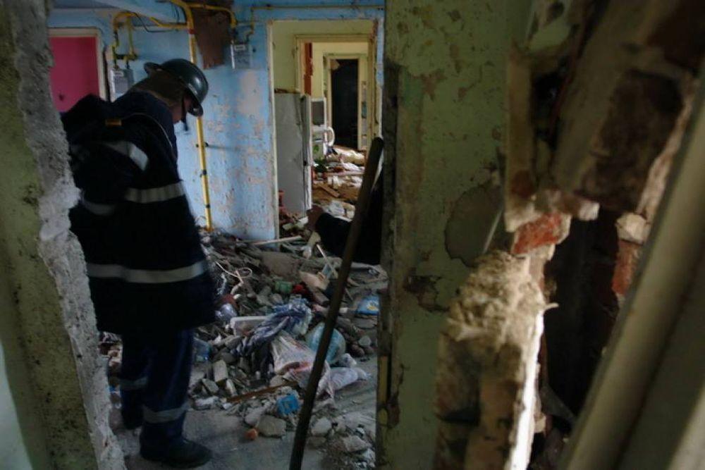 Peste 60 de apartamente DISTRUSE in parg de iarna, in urma unei explozii URIASE in Bistrita!
