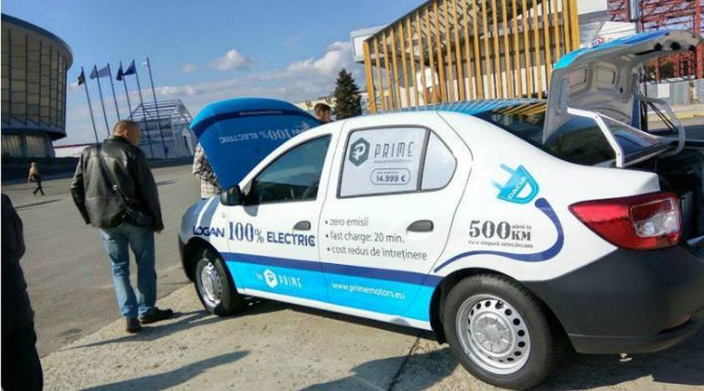 O companie romaneasca a lansat LOGANUL 100% electric! Are autonomie de 500 km si poti parcurge 100 km cu 6 lei!