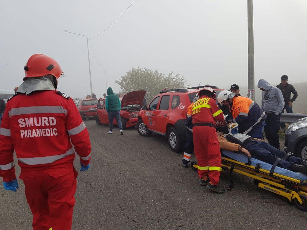 Plan ROSU de interventie in Vaslui! Accident GRAV cu 20 de victime!