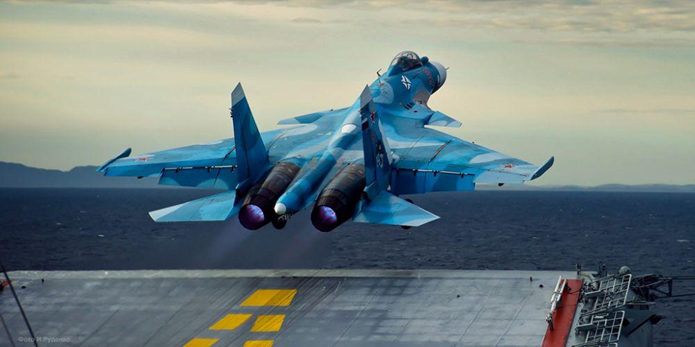 Un avion de vanatoare rusesc s-a PRABUSIT in Marea Mediterana!