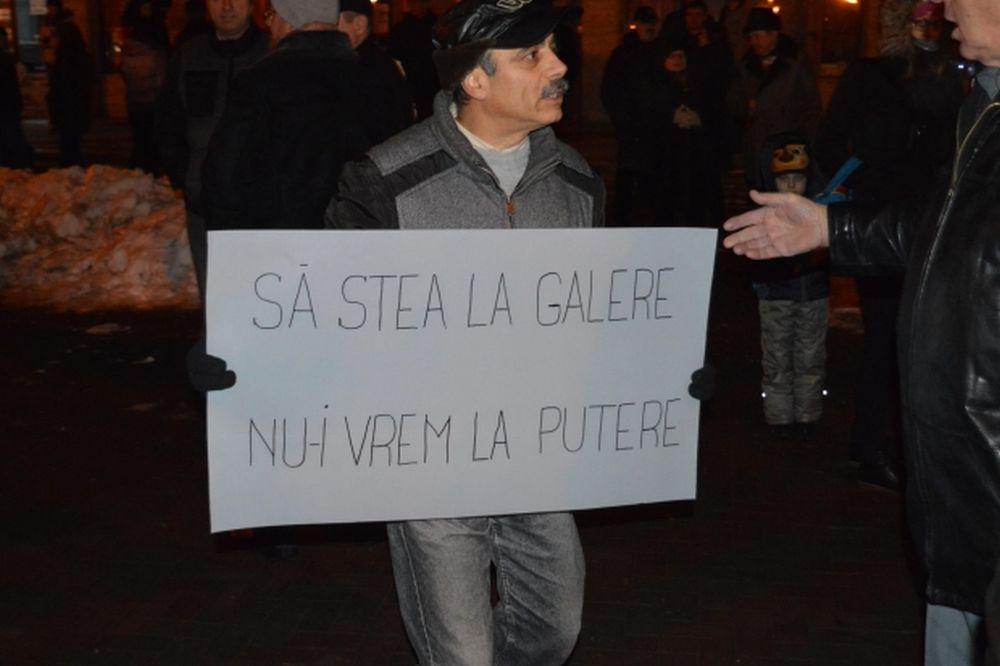Zeci de mii de romani, in toata tara si in strainatate, PROTESTEAZA impotriva gratierii si amnistiei!
