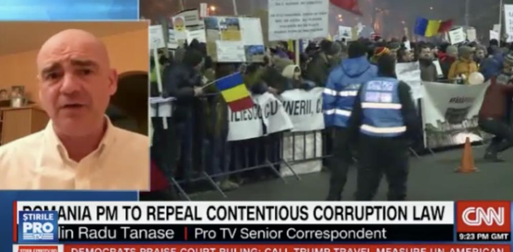 VIDEO – CNN a umilit Antena 3! Totul s-a intamplat in direct!