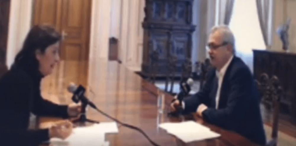 VIDEO – Cum reactioneaza Liviu Dragnea cand un jurnalist ii demonstreaza cu argumente ca MINTE!