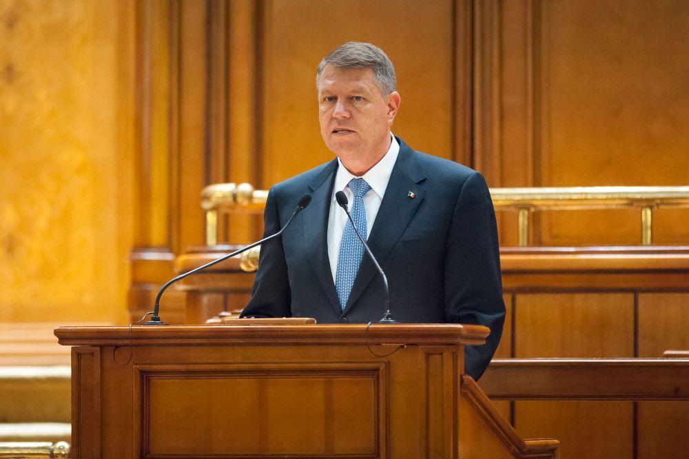 Presedintele Klaus Iohannis: Alegerile anticipate sunt o SOLUTIE!