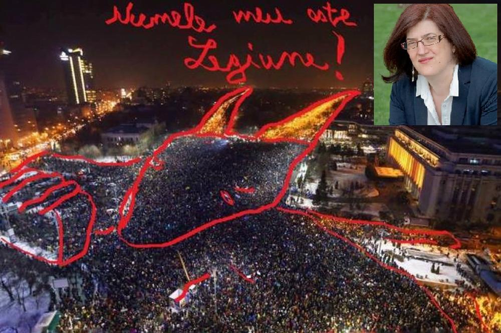 Oare liderii PSD o fac intentionat? Grindeanu a numit-o pe femeia care spunea ca vede DIAVOLUL in protestele din Piata Victoriei secretar de stat in Ministerul Comunicatiilor!