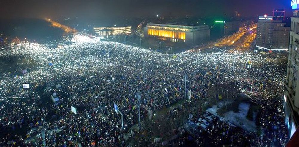 Guvernul Grindeanu interzice protestele! Politia alunga pe oricine iese in Piata Victoriei sa protesteze!