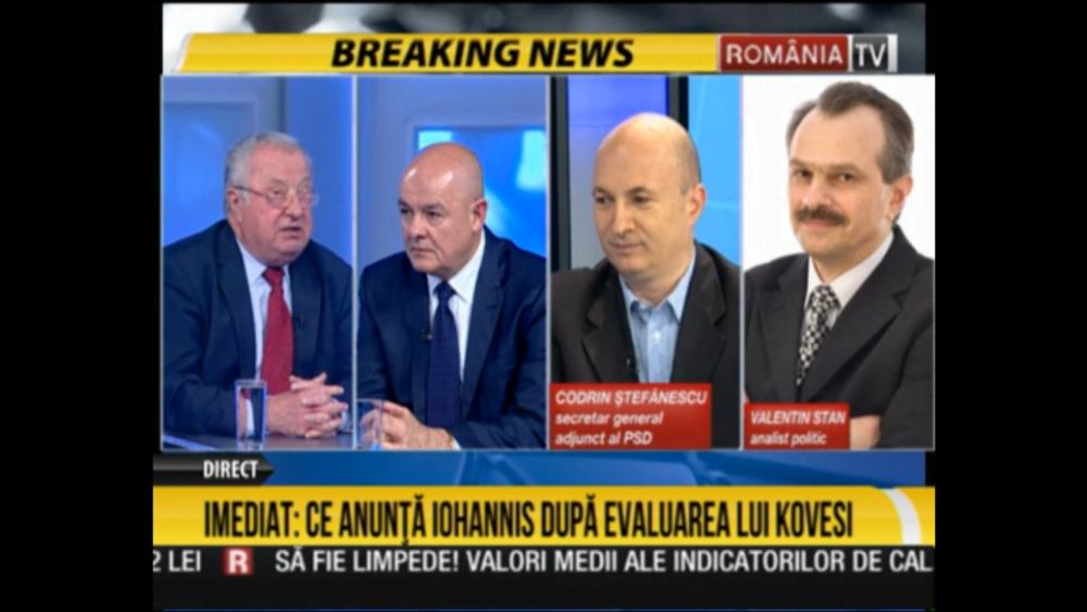 Zi neagra la Romania TV! Codrin Stefanescu spumega: Procurorii astia mi-au anchetat GUVERNUL MEU, al PSD, si acum scapa?!