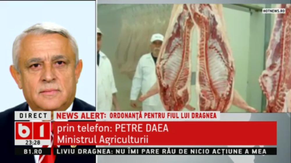 Asa se fac afacerile in PSD! Ministrul agriculturii pus de Dragnea RECUNOASTE ca Guvernul a alocat bani pentru ferma de porci a lui Dragnea Junior!