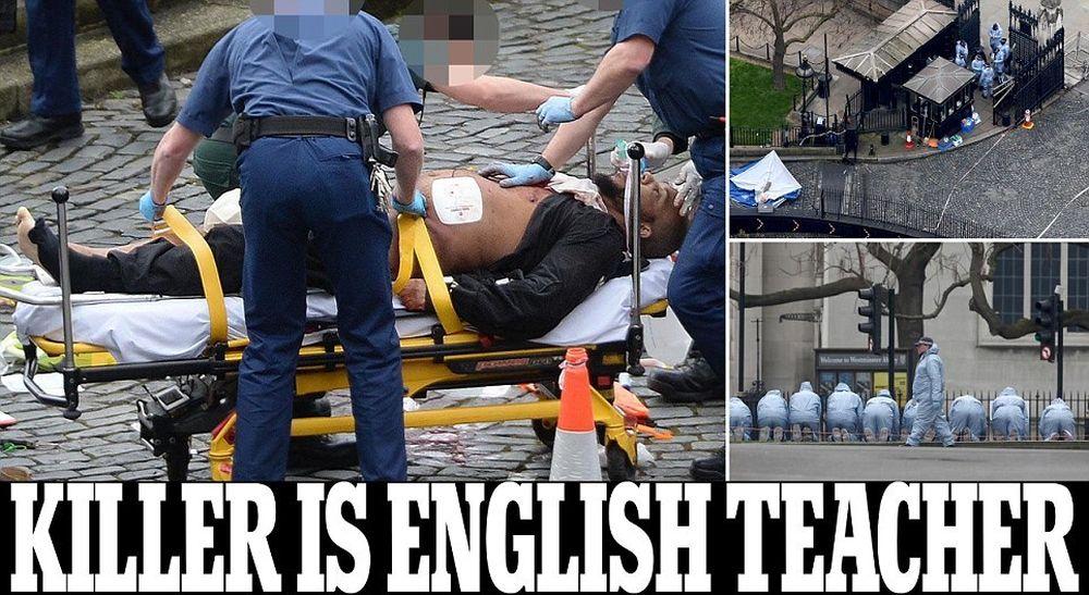 Rasturnare de situatie in ATENTATUL de la Londra! Teroristul este, de fapt, un profesor de engleza nascut in Marea Britanie!