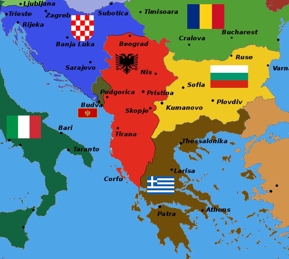 Un nou RAZBOI mocneste langa Romania, in Balcani! Serbia acuza Europa ca sustine Albania Mare!