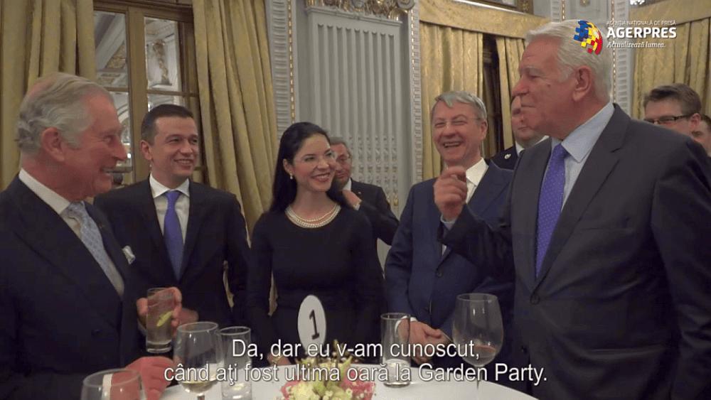 Printul Charles IL IRONIZEAZA pe Melescanu, ministrul de externe pus de Tariceanu: Ati supravietuit?