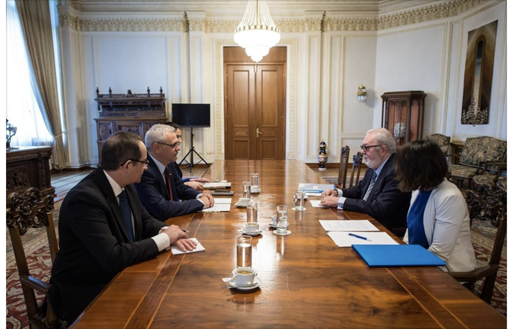 FOTO – Liviu Dragnea s-a FACUT DE RAS in fata unui lider european! Moment JENANT pentru Romania!