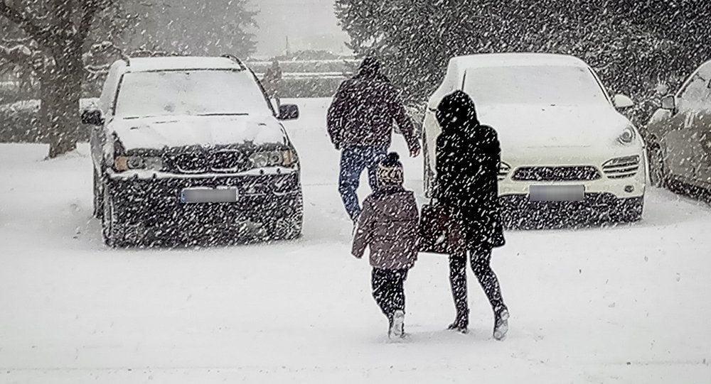 Iarna s-a intors la mijloc de aprilie! Temperaturi sub limita inghetului si cod portocaliu de NINSOARE ABUNDENTA!