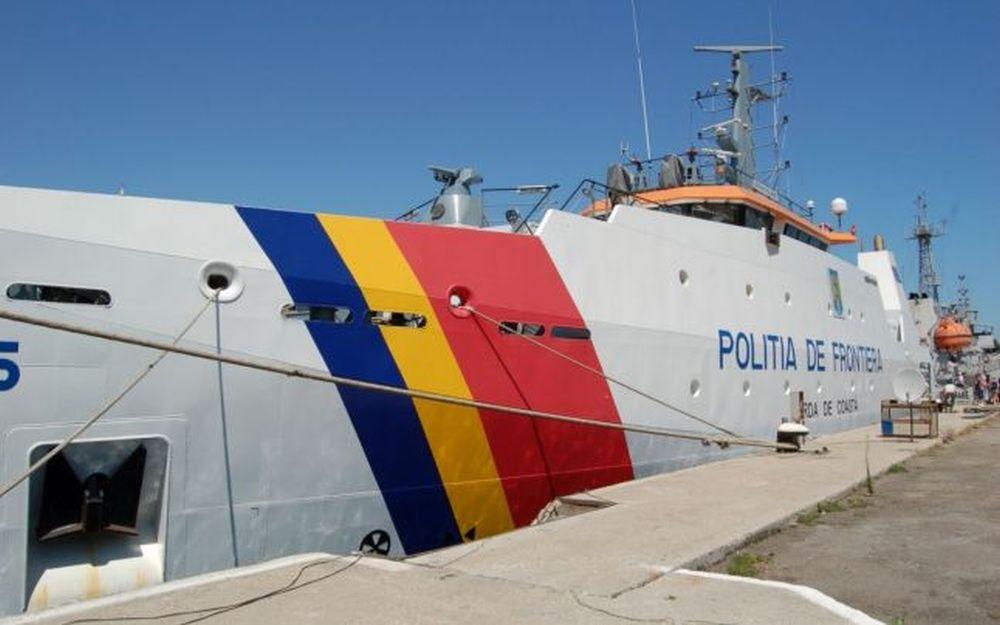 O nava romaneasca a pazei de coasta a fost LOVITA in Marea Neagra de una turceasca, dupa focuri de arma!