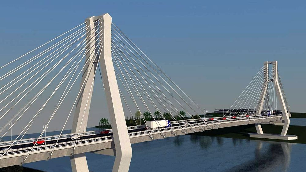 Firme din Italia, Japonia si China se lupta sa construiasca podul urias de peste Dunare!