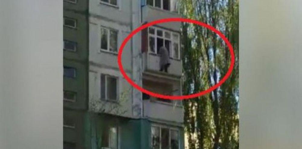 VIDEO – Mai bine mor decat sa fie cinstiti! Un politician a vrut sa sara de la etaj, ca sa scape de procurorii anticoruptie!