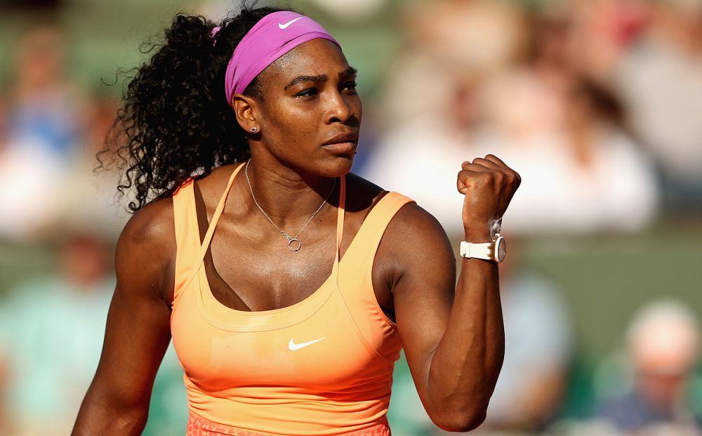 Serena Williams ii raspunde de la obraz lui Ilie Nastase: Spre deosebire de tine eu NU sunt o lasa!
