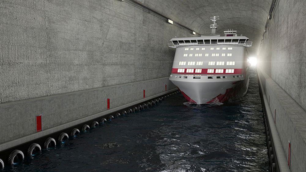 VIDEO- Noi nu suntem in stare sa construim o autostrada peste munti si Norvegia face tuneluri URIASE pentru vapoare!