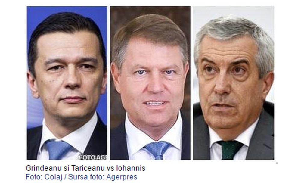 Decizie SOC: Tariceanu si Grindeanu au batut palma sa-l scoata pe Iohannis din joc! Conducerea DNA si a Procuratorii, la mana PSD!
