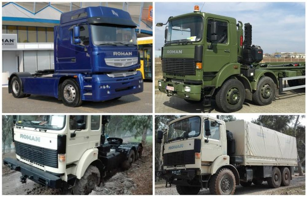 GALERIE FOTO – Asa arata noile camioane Roman Brasov, model 2017, destinate pietelor internationale!