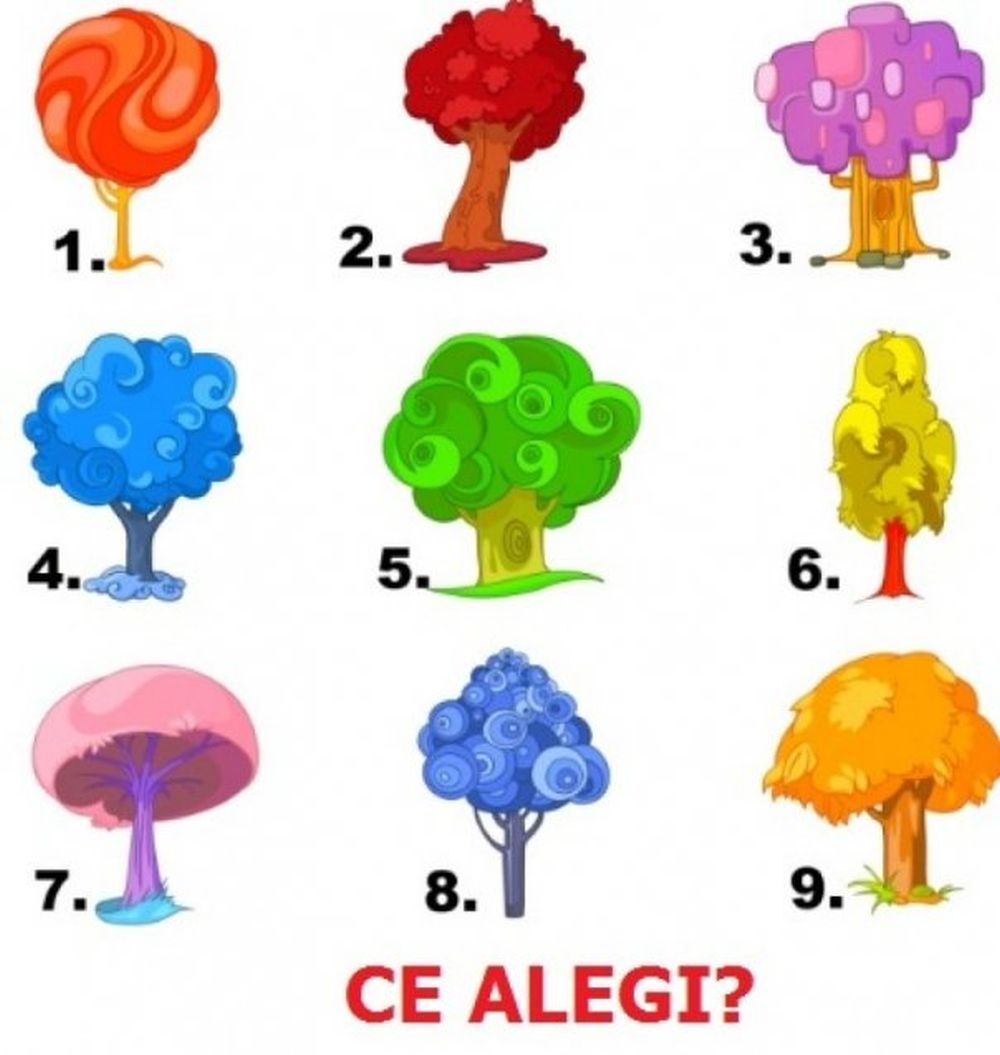 Spune-mi ce copac iti place ca sa-ti spun ce destin ai!