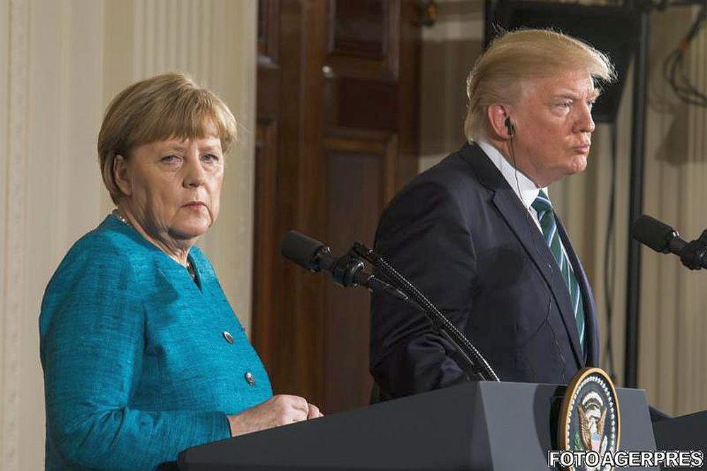 Angela Merkel, dupa intalnirea cu Trump: S-a dus vremea in care puteam avea incredere unii in altii! Europa e pe cont propriu!